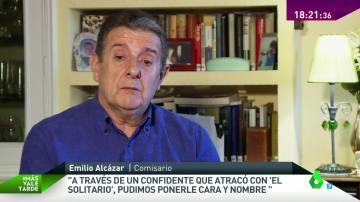 Emilio Alcázar, comisario