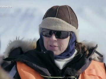 """La bióloga marina Janne Soreide, del hielo bajo el Ártico: """"La gente no lo sabe, pero hay mucha vida y comida"""""""