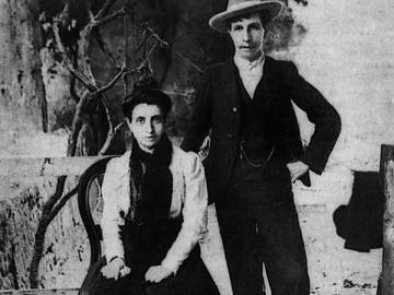 Marcela y Elisa, casadas por la Iglesia