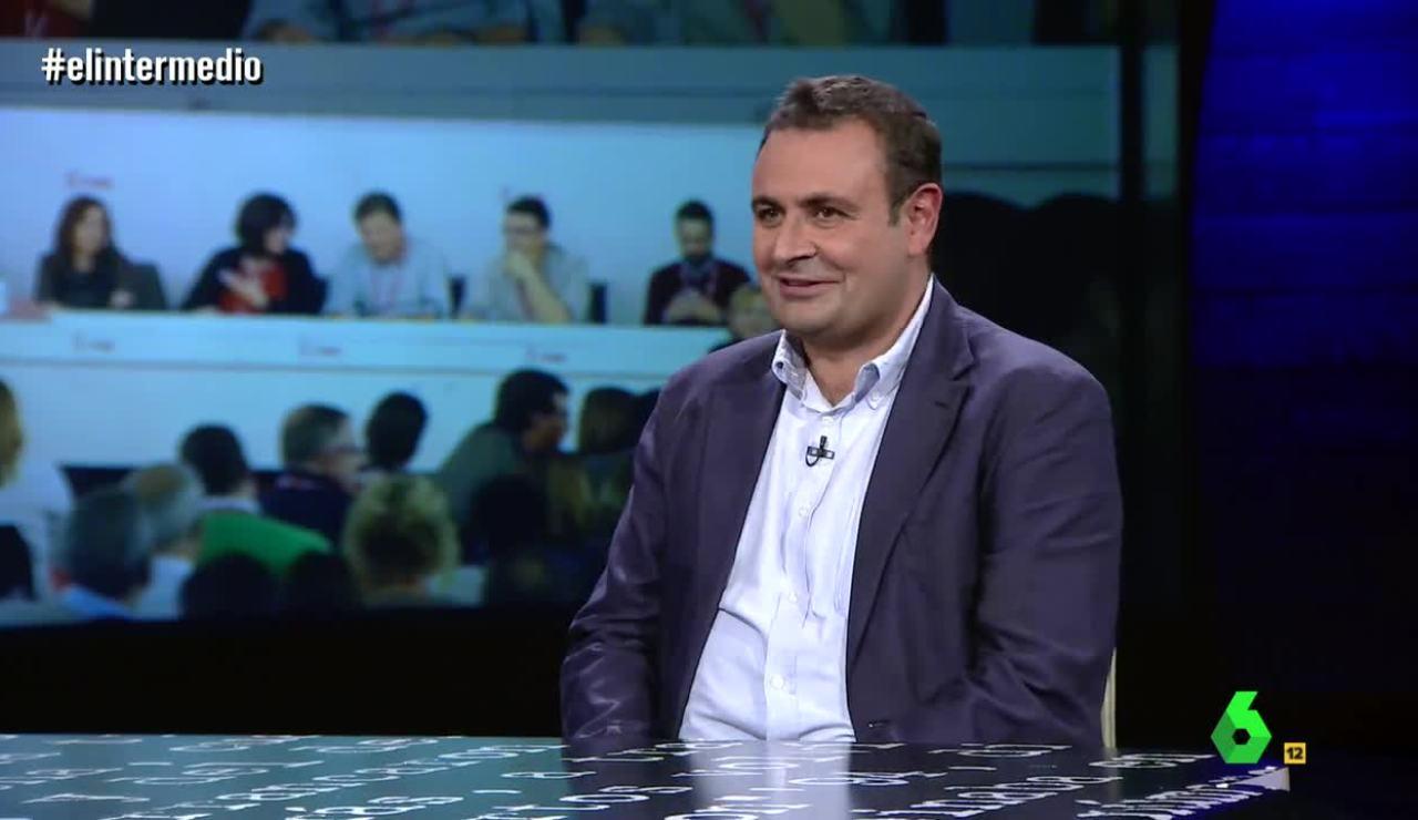 Ignacio Sánchez Cuenca visita El Intermedio