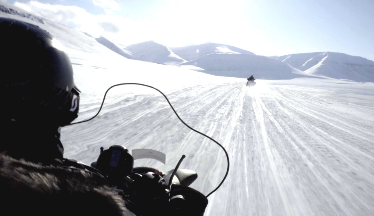 Un desierto de hielo y nieve por delante