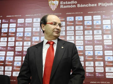 Pepe Castro, presidente del Sevilla.