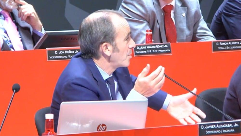 Javier Aldezabal, directivo del Athletic de Bilbao