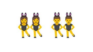 Bailarina y bailarines emojis
