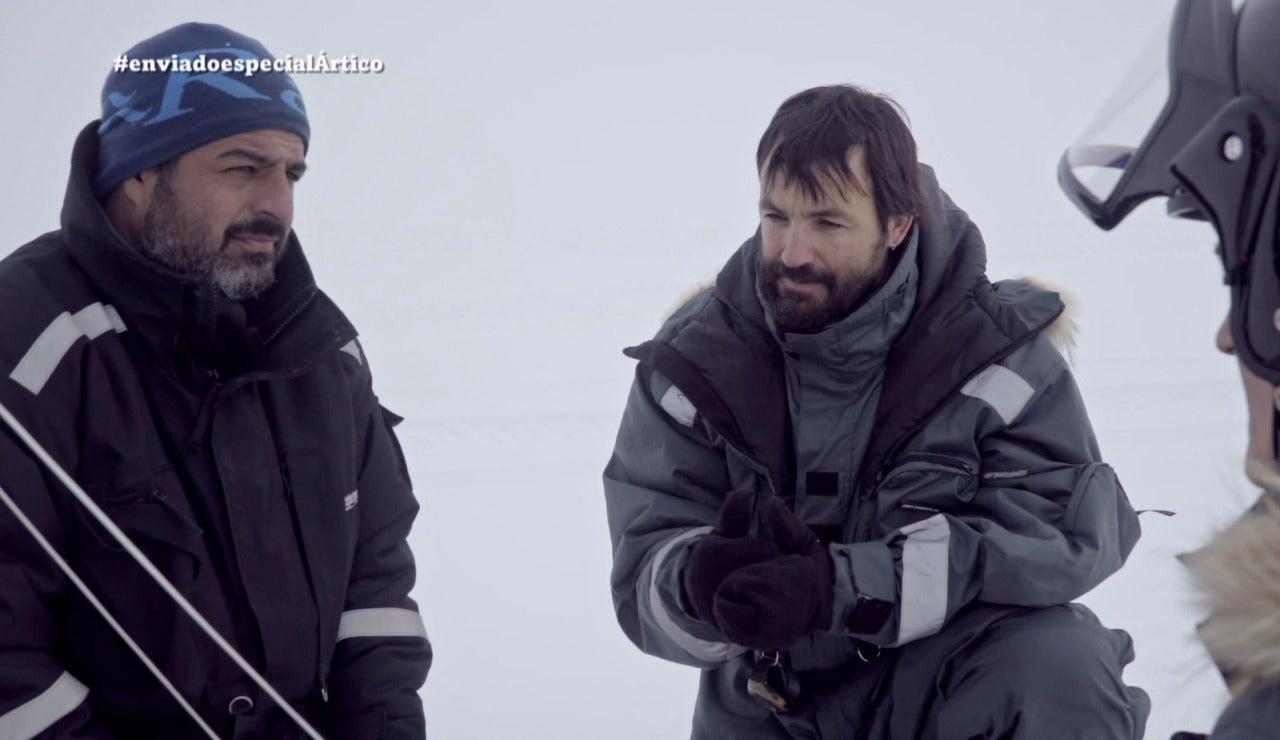 Jalis de la Serna visita el Ártico en Enviado especial