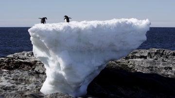las condiciones del mar y el lecho de roca debajo de un glaciar pueden influir en la masa congelada