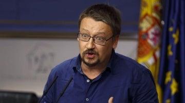 El portavoz de En Común Podem, Xavier Domènech