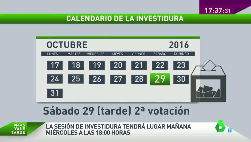 Calendario electoral
