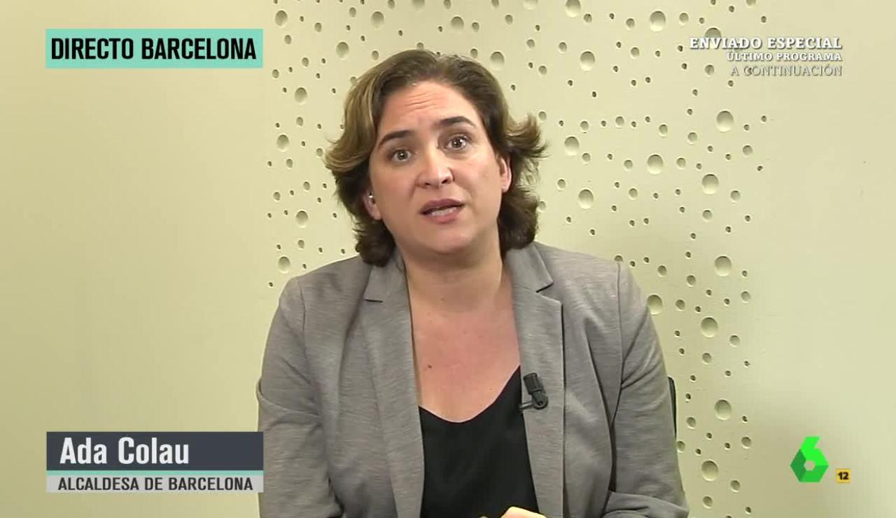 Ada Colau alerta de la situación de los CIE