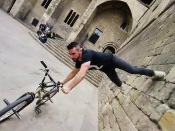 parkour en bicicleta