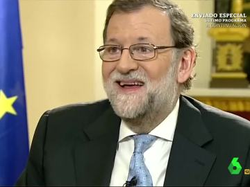 Con esta cara se ha quedado Mariano Rajoy al no pillar el chiste del Risitas