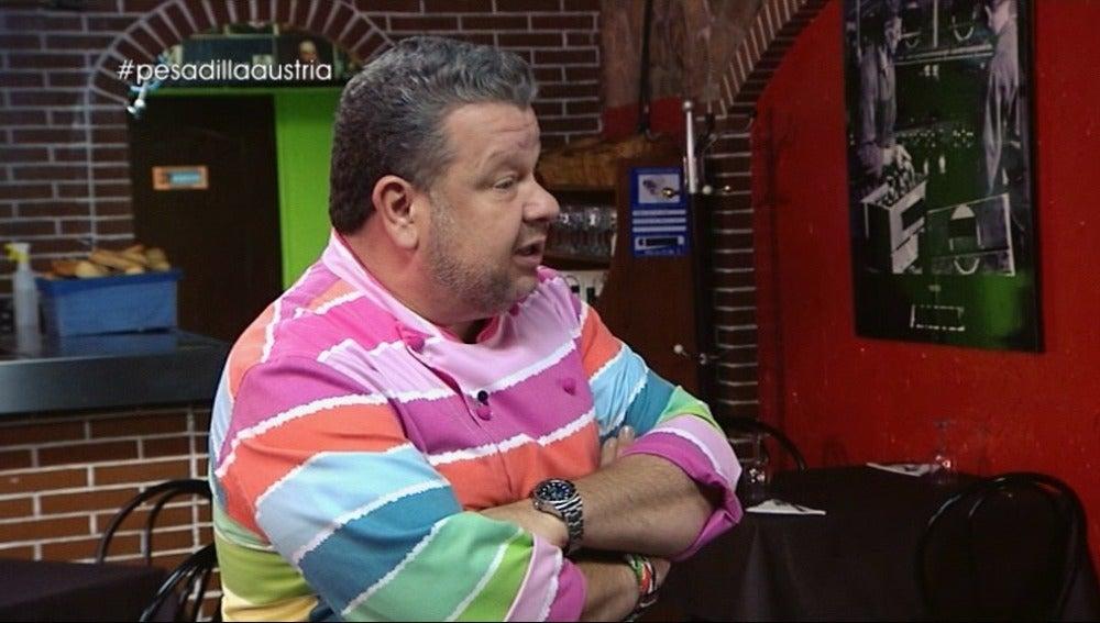 """Chicote critica el pasotismo de Mónica: """"En cualquier otro lugar, trabajando así, duras minutos y medio"""""""