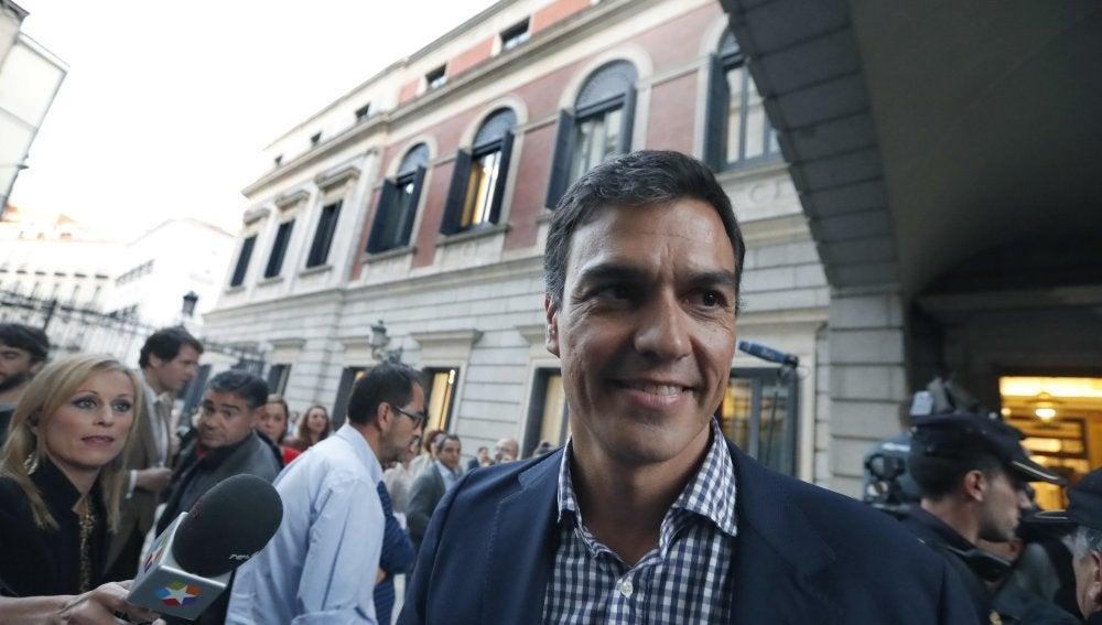 Pedro Sánchez, exsecretario del PSOE