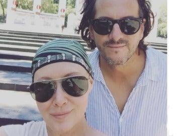Shannen Doherty junto a su marido