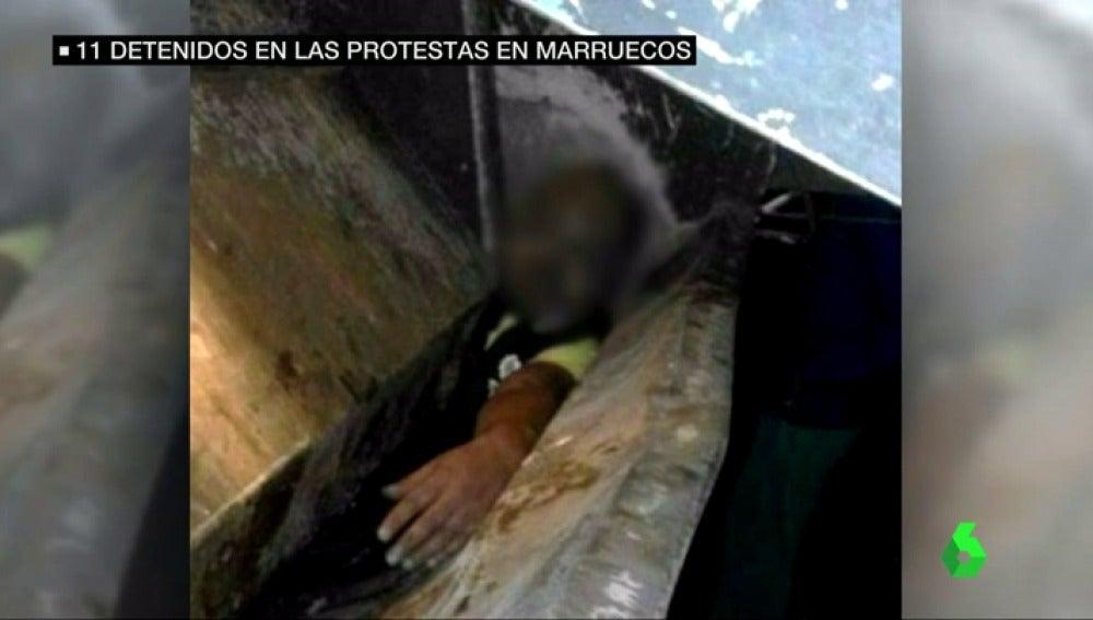 Frame 15.271724 de: MANIFESTACIONES MARRUECOS