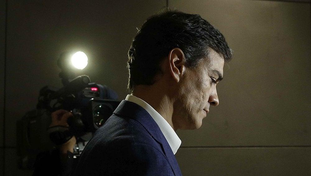 Pedro Sánchez, exsecretario general del PSOE