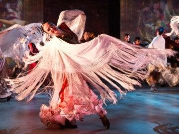Bailarina del equipo de Ballet Nacional de España