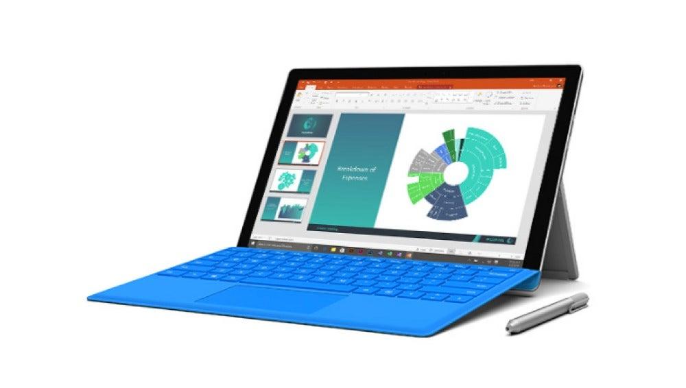 Surface Pro 4 de Microsoft