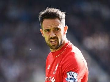 Danny Ings, delantero inglés del Liverpool