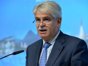 Alfonso Dastis, ministro de Asuntos Exteriores y Cooperación