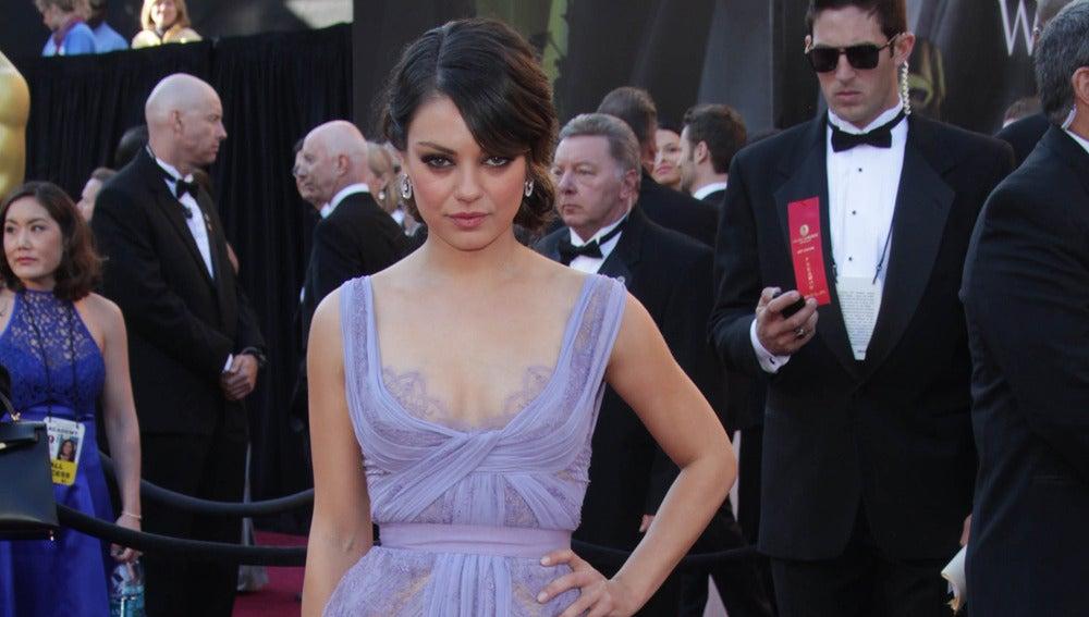 La actriz Mila Kunis en una imagen de archivo