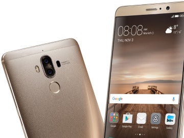 Huawei Mate 9 frontal y trasero