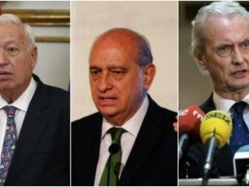 Margallo, Fernández Diaz y Morenés