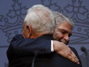 José Manuel García-Margallo y Alfonso Dastis