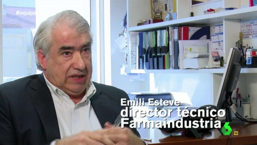 """Frame 27.43666 de: Emili Esteve, sobre el aumento del consumo de ansiolíticos: """"La industria farmacéutica no debe entrar en estos asuntos"""""""