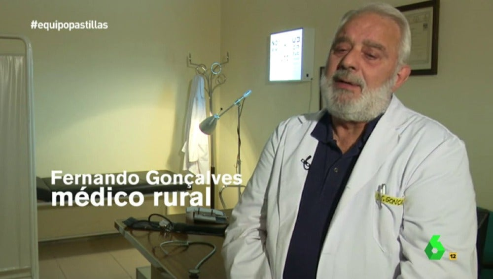 """Frame 98.669464 de: Fernando Goncalves, médico: """"Siempre es mejor usar un psicofármaco que decir 'necesita una psicoterapia que la SS no te puede ofrecer y no puedes pagar"""""""