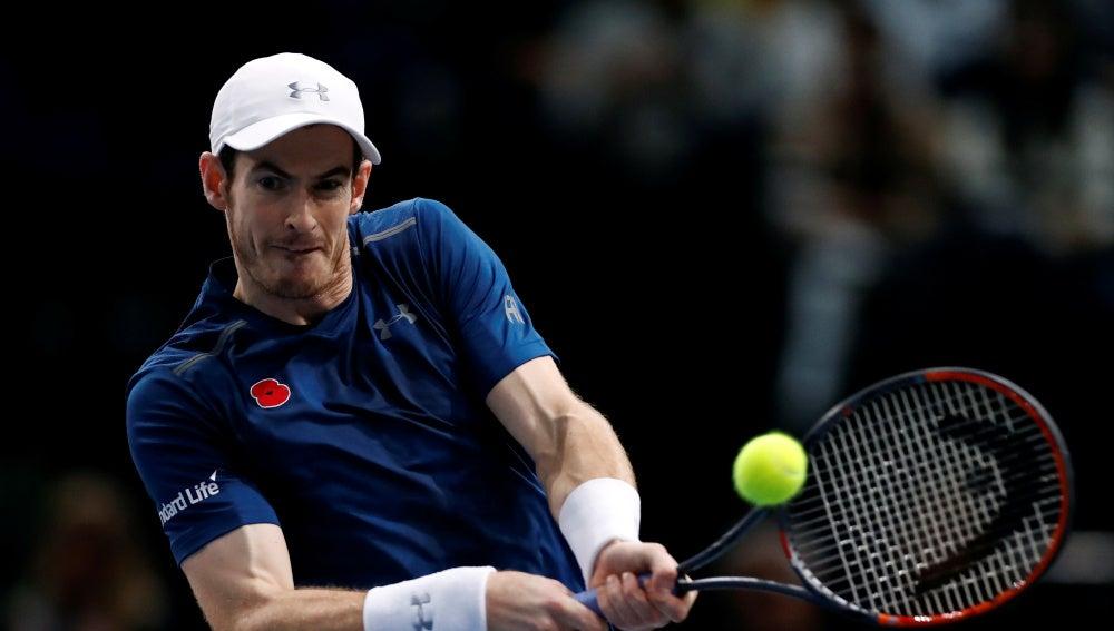 Andy Murray, en su partido ante Berdych