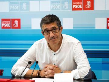 El diputado socialista, Patxi López