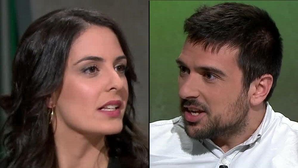 Rita Maestre y Ramón Espinar