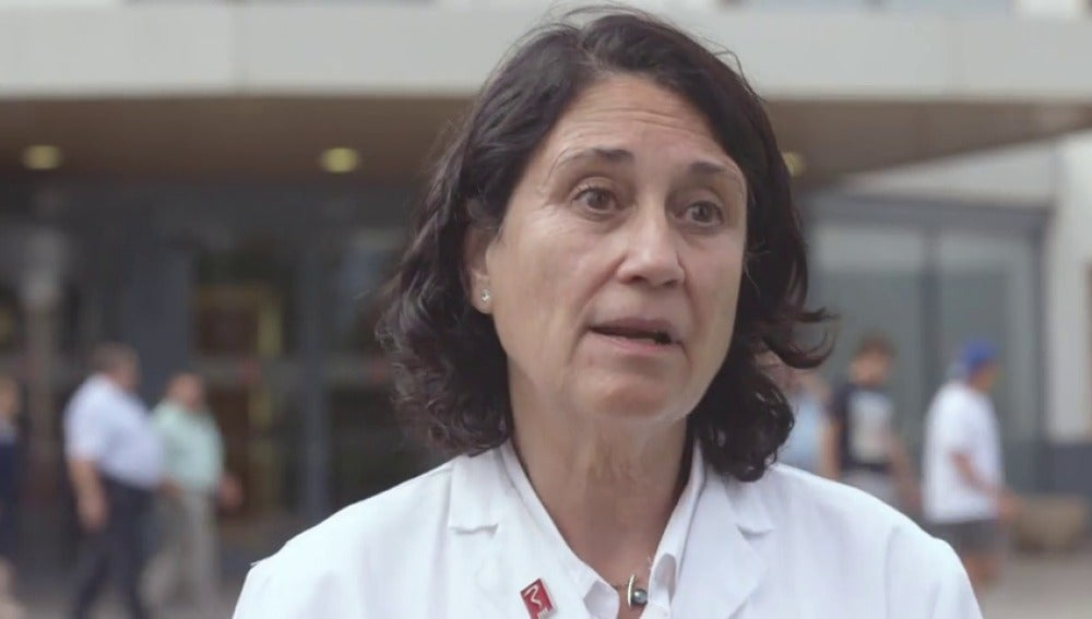 """Frame 165.938438 de: Teresa Fuentelsaz, anestesióloga: """"Cataluña ha perdido el 14% del presupuesto de Sanidad, 1.400 millones de euros"""""""