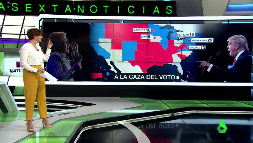 Votos populares y votos electorales en EEUU