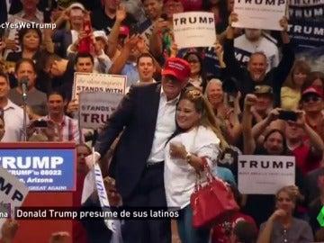 Frame 245.105959 de: Trump VS. latinos: ¿por qué la comunidad hispana ha sido clave para que el republicano sea presidente de EEUU?
