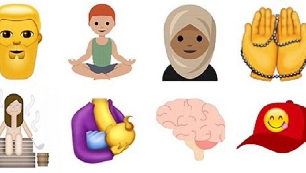 Nuevos emoticonos