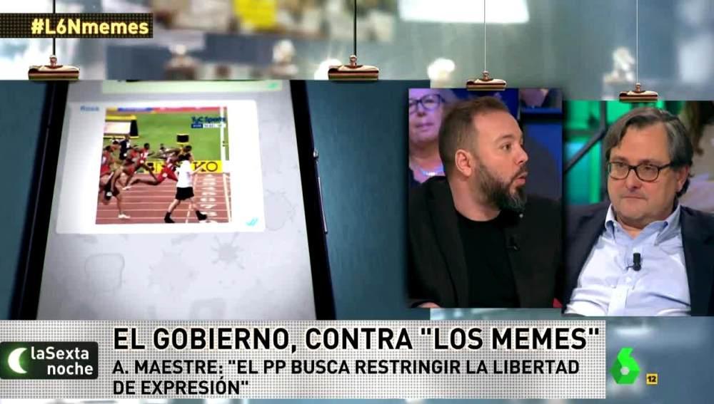 Antonio Maestre, sobre los memes
