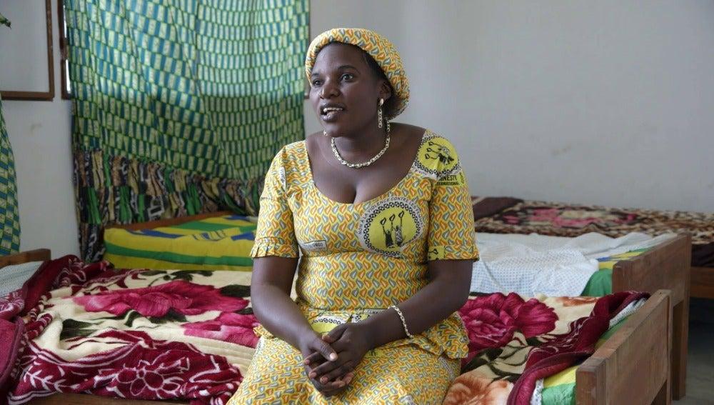 Una víctima de violación en el Congo