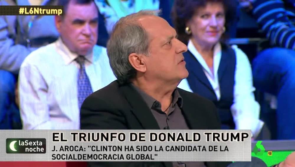 Javier Aroca en laSexta Noche