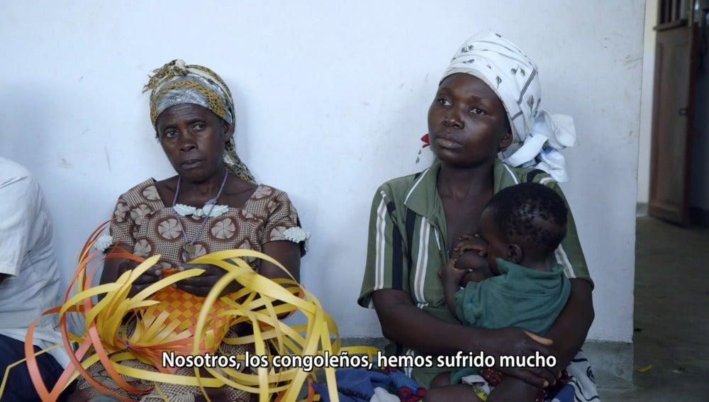 Mujeres del Congo en Salvados