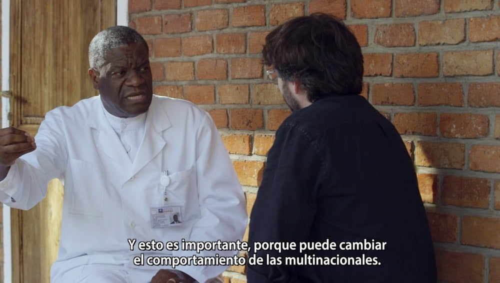 El director del Hospital Pazi, Denis Mukwege