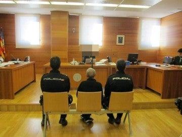 El 'violador de la Diagonal' durante el juicio
