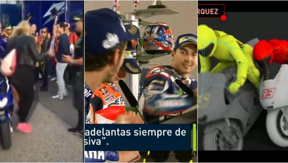 Las últimas polémicas de Valentino Rossi