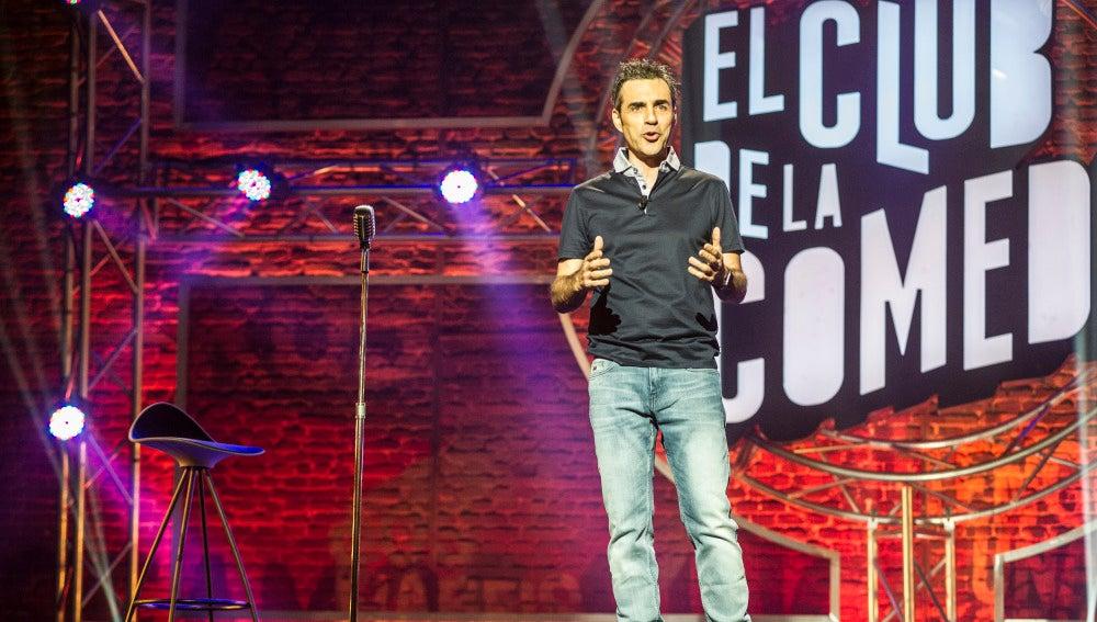 Dani Delacámara en El Club de la Comedia