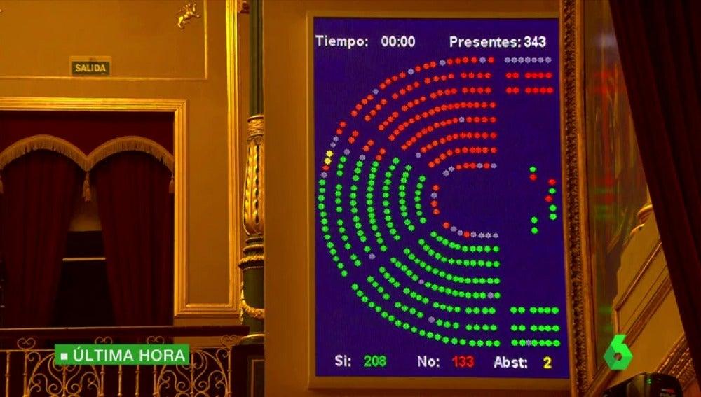 Frame 17.003011 de: El Congreso aprueba la proposición de ley para suspender el calendario de la Lomce