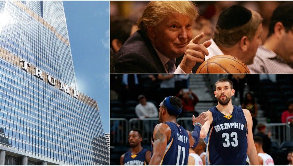 Cuatro equipos de la NBA no quieren alojarse en los hoteles del presidente