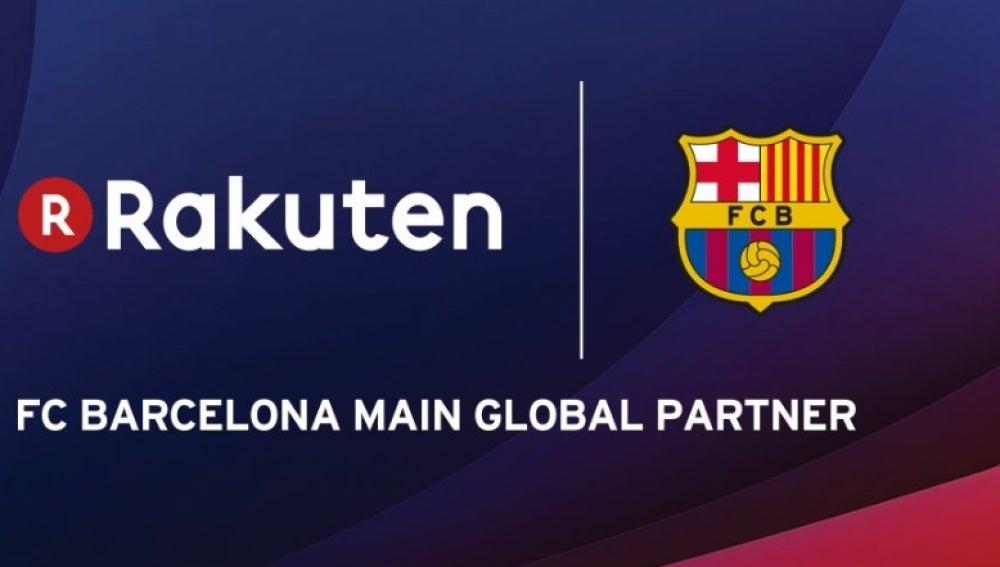 Rakuten, nuevo patrocinador principal del Barcelona