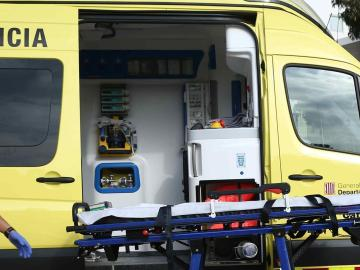 Ambulancia del Sistema de Emergencias Médicas (SEM) de Cataluña