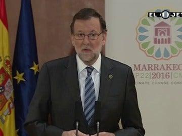 Frame 0.0 de: Rajoy vuelve a repetir su famoso 'España es el país que más crece de Europa'